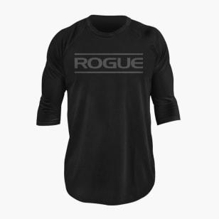 Rogue Black on Black 3/4 Sleeve