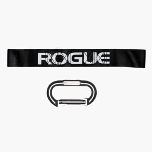 Rogue Grip Strap and Carabiner - Single Set