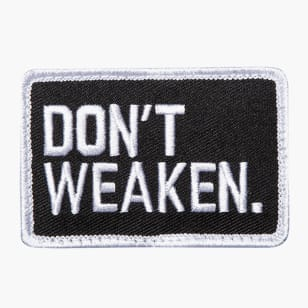 Don't Weaken Patch