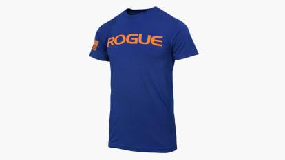Rogue Basic Shirt - Navy/Orange