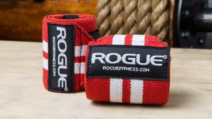 Rogue Wrist Wraps - Red & White*