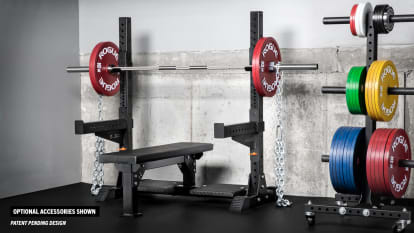 Rogue Monster Lite Competition Bench close up