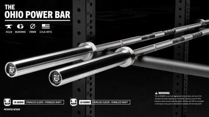 Rogue 45LB Ohio Power Bar - AGGRO