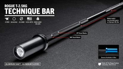 catalog/Weightlifting Bars and Plates/Barbells/Technique Barbells/ROGTECHBAR/ROGTECHBAR-H_zxucwl