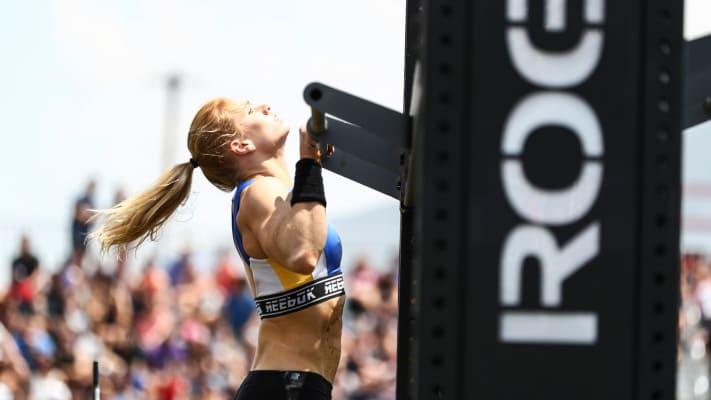 Katrin Davidsdottir during the games