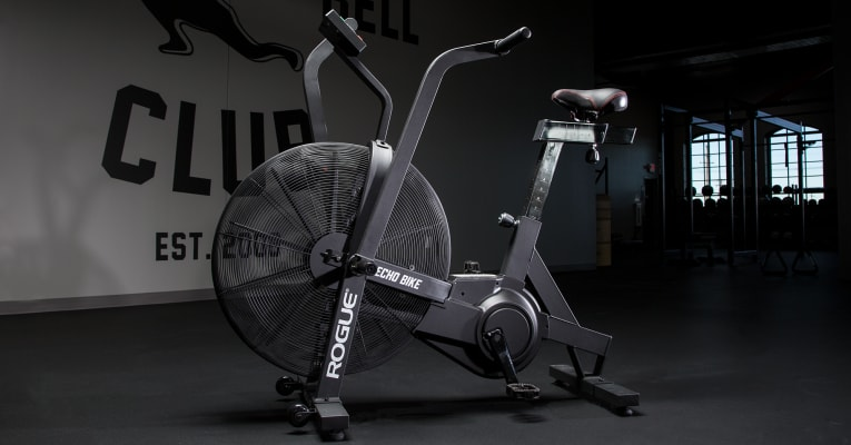 Echo Bike in gym setting