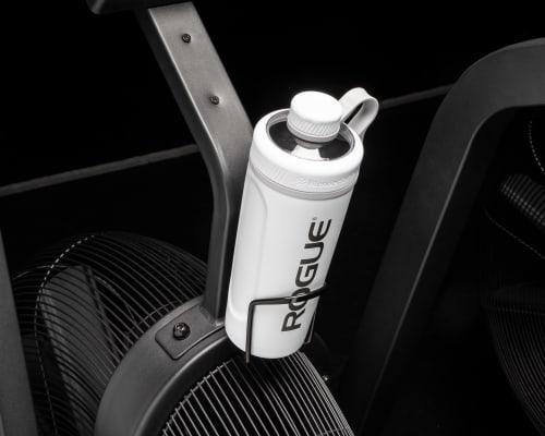 Echo Bike Bottle Cage in use