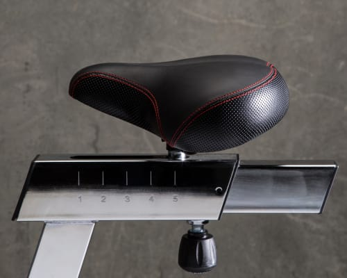 Echo Bike seat close-up