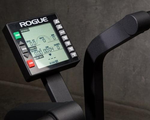 Echo Bike monitor close-up